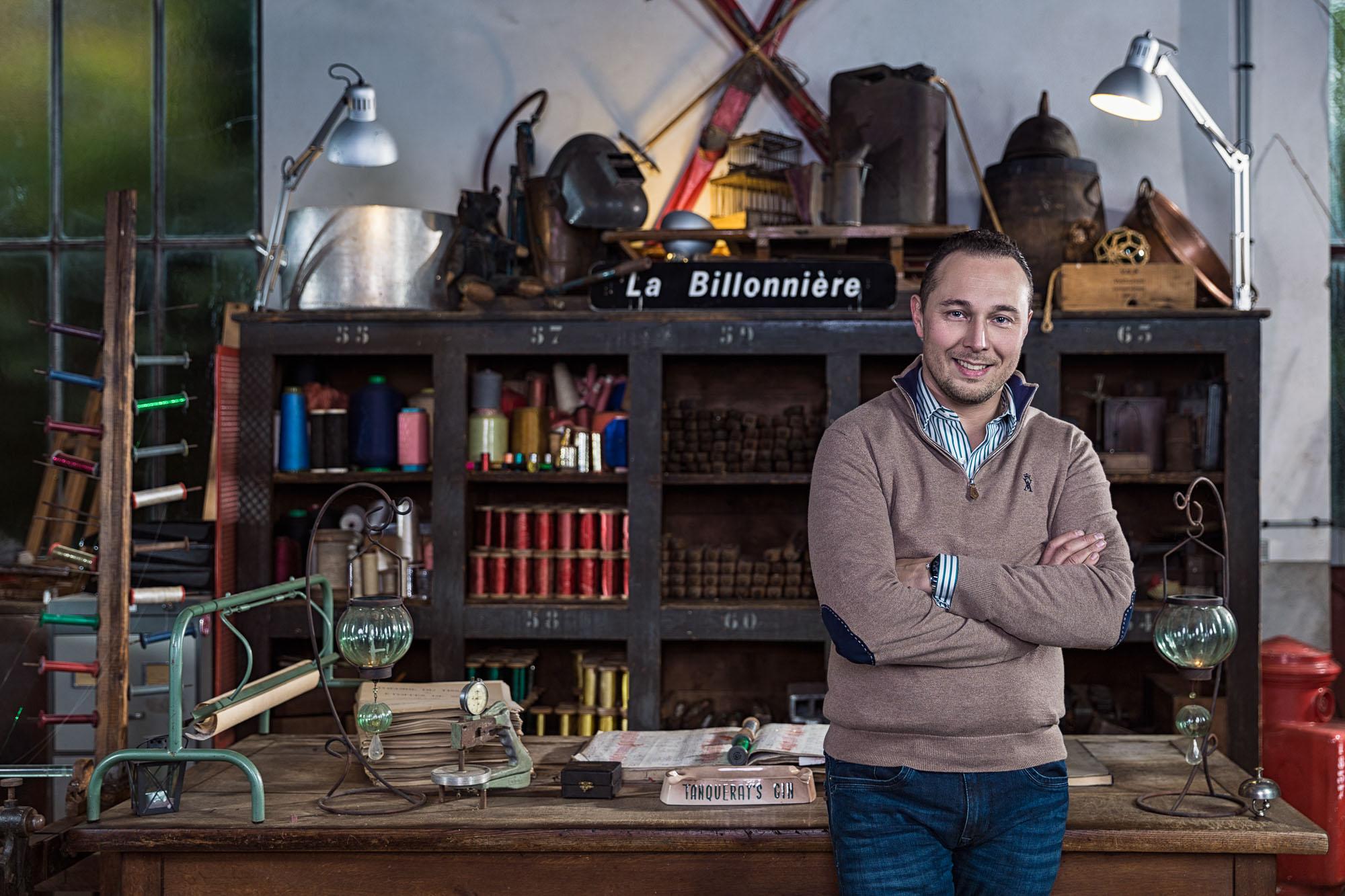 Philippe BILLON - Tailleur & Directeur MORETEAU